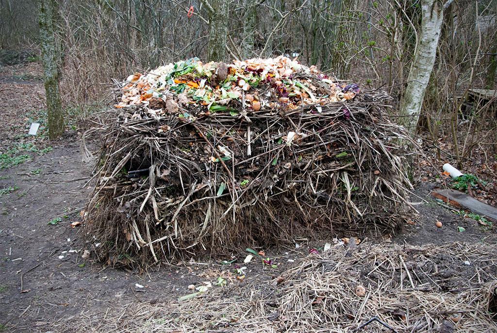 Kompost fra Forundringens Have i Ringkøbing