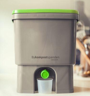 Lav bokashi med Bykompostspanden fra byhaver.dk
