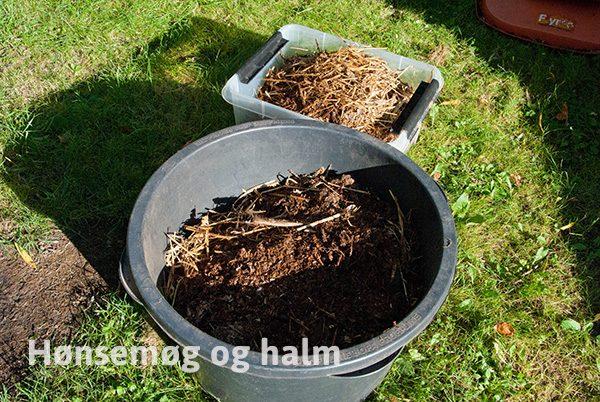 kompost med effektive mikroorganismer