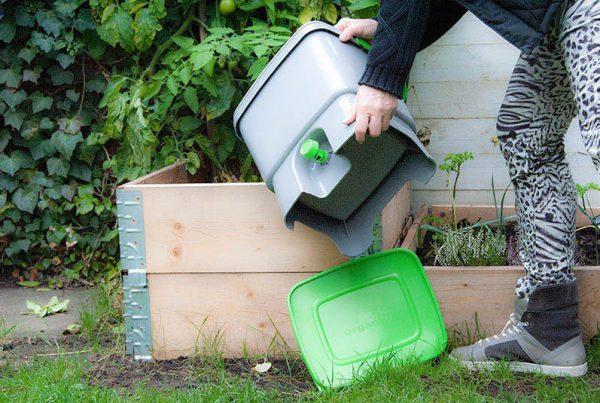 Pallerammekasse til bokashi-kompost