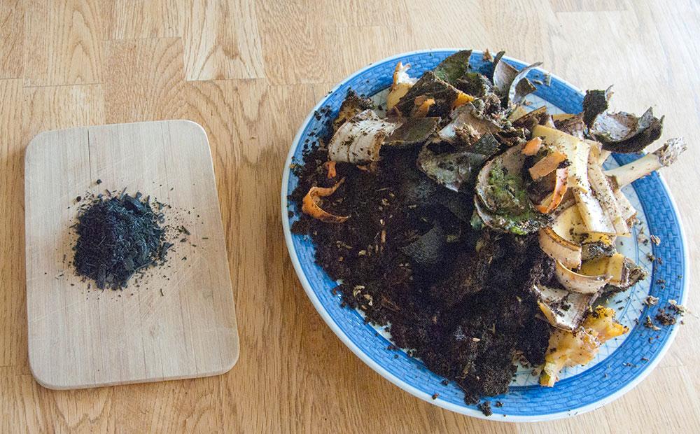 Biokul og madaffald skal fermenteres sammen