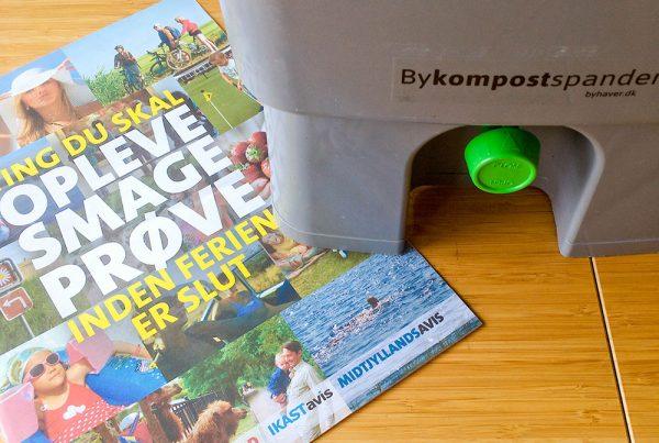 Bykompostspanden og ferie. Foto: Maria Ehlert Byhaver.dk