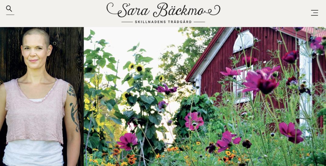 Skillnadenstradgard med Sara Bäckmo