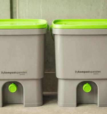 Bykompostspande fra Byhaver.dk