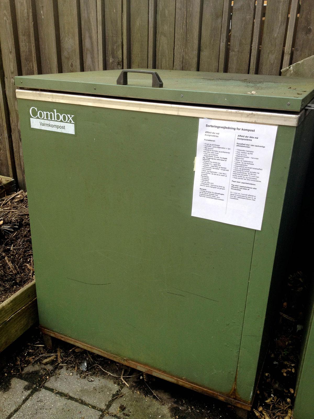 kompostbeholder til bokashi