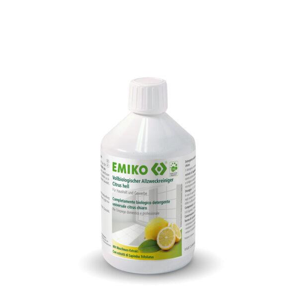 EMIKO Universalrengøringsmiddel, citrus, lys 0,5 liter