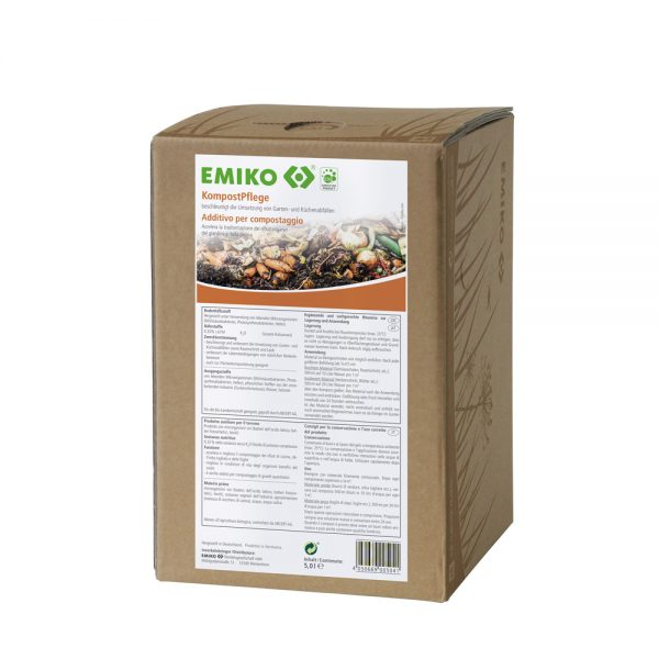 EMIKO® Kompostpleje, 5 liter, BIB