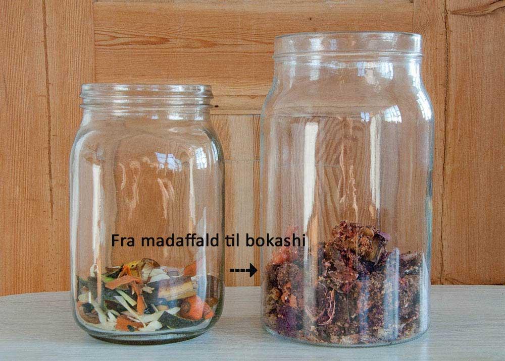 Fra madaffald til bokashi